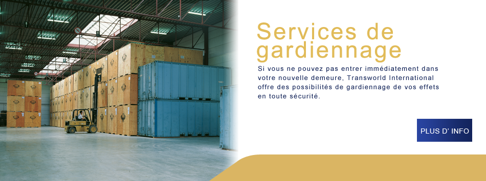 services de gardiennage