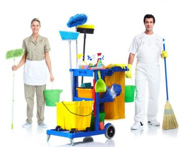 Cleaning services after removal